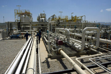 (FILES) This file picture taken on May 18, 2009  shows a view of the Tawke oil field and plant that is linked with the Jihan Turkish pipeline in Zakho, 400km north of Baghdad.  Oil topped $100 per barrel on Monday January 31, 2011 for the first time since 2008, as traders fretted over violent unrest in Egypt that could disrupt the flow of oil through the Suez Canal on its way to the West.  London's Brent North Sea crude for delivery in March surged as high as $100.25 per barrel in late afternoon deals -- which marked the highest level since October 1, 2008. AFP PHOTO/SAFIN HAMED/FILES (Photo credit should read SAFIN HAMED/AFP/Getty Images)